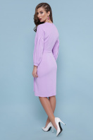 голубое платье с поясом. Платье Одри д/р. Цвет: лавандовый в интернет-магазине
