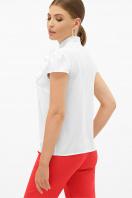 черная блузка с бантом. блуза Федерика к/р. Цвет: белый цена