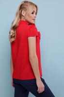 черная блузка с бантом. блуза Федерика к/р. Цвет: красный цена