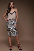 облегающая леопардовая юбка. Леопард юбка Алина. Цвет: принт купить