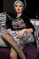 облегающая леопардовая юбка. Леопард юбка Алина. Цвет: принт в интернет-магазине