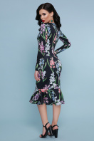 . Гиацинты платье Фаина д/р. Цвет: черный цена