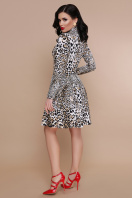 короткое леопардовое платье. Леопард платье Эльнара д/р. Цвет: принт купить