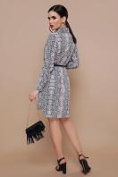 платье-рубашка со змеиным принтом. Питон платье-рубашка Аврора П д/р. Цвет: принт купить