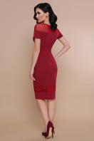 . платье Владана 2 к/р. Цвет: бордо купить