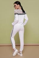 белый спортивный костюм. Костюм Сильвер. Цвет: белый купить