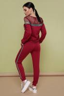 бордовый спортивный костюм. Костюм Сильвер. Цвет: бордо цена