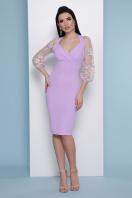бордовое платье с вышивкой. платье Флоренция В д/р. Цвет: лавандовый купить