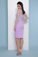 бордовое платье с вышивкой. платье Флоренция В д/р. Цвет: лавандовый в интернет-магазине