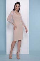 бордовое платье с вышивкой. платье Флоренция В д/р. Цвет: св. бежевый купить