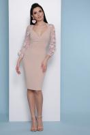 бордовое платье с вышивкой. платье Флоренция В д/р. Цвет: св. бежевый цена