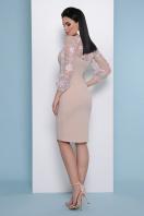 бордовое платье с вышивкой. платье Флоренция В д/р. Цвет: св. бежевый в интернет-магазине