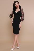 бордовое платье с вышивкой. платье Флоренция В д/р. Цвет: черный купить