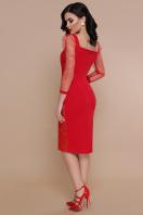 вечернее красное платье. платье Памела 2 д/р. Цвет: красный купить