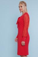 батальное красное платье. платье Нелли-Б д/р. Цвет: красный купить