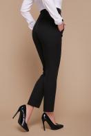 узкие красные брюки. брюки Бенжи 2. Цвет: черный в Украине
