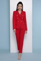 узкие красные брюки. брюки Бенжи 2. Цвет: красный купить