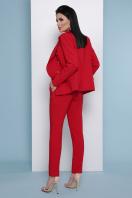 узкие красные брюки. брюки Бенжи 2. Цвет: красный цена