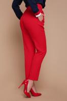 узкие красные брюки. брюки Бенжи 2. Цвет: красный в Украине