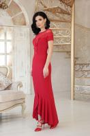 красное платье с кружевом. платье Наоми к/р. Цвет: красный купить