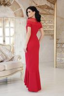 красное платье с кружевом. платье Наоми к/р. Цвет: красный цена