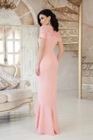 персиковое платье в пол. платье Наоми к/р. Цвет: персик цена