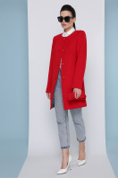 кашемировое пальто оливкового цвета. Пальто П-337-К. Цвет: 3032-красный купить