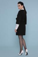 черное пальто с рукавом три четверти. Пальто П-355. Цвет: 161-черный цена