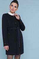 кашемировое пальто оливкового цвета. Пальто П-337-К. Цвет: черный купить