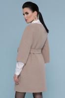 черное пальто с рукавом три четверти. Пальто П-355. Цвет: 003-бежевый цена