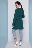 кашемировое пальто оливкового цвета. Пальто П-337-К. Цвет: бутылочный цена