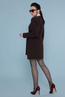 кашемировое пальто оливкового цвета. Пальто П-337-К. Цвет: шоколад купить