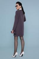 кашемировое пальто оливкового цвета. Пальто П-337-К. Цвет: сирень купить