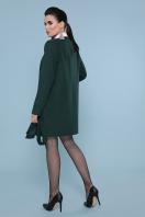 кашемировое пальто оливкового цвета. Пальто П-337-К. Цвет: 7473-изумруд цена
