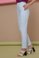 узкие красные брюки. брюки Бенжи 2. Цвет: голубой купить