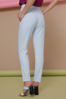 узкие красные брюки. брюки Бенжи 2. Цвет: голубой цена