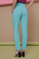 узкие красные брюки. брюки Бенжи 2. Цвет: мята цена