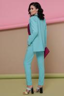 строгий светлый пиджак. пиджак Патрик. Цвет: мята недорого