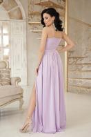 шелковое платье в пол. платье Эшли б/р. Цвет: лавандовый цена