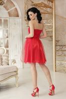 открытое мини платье. платье Эмма б/р. Цвет: красный цена