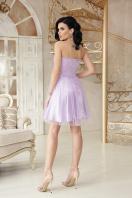 открытое мини платье. платье Эмма б/р. Цвет: лавандовый цена