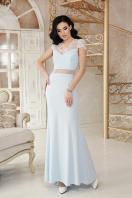 голубое вечернее платье. платье Алана к/р. Цвет: голубой купить
