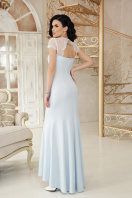 голубое вечернее платье. платье Алана к/р. Цвет: голубой цена