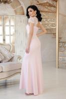голубое вечернее платье. платье Алана к/р. Цвет: пудра цена
