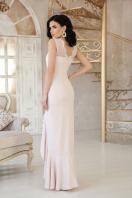 розовое платье с разрезом. платье Этель к/р. Цвет: св. бежевый цена