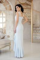бежевое длинное платье. платье Этель к/р. Цвет: голубой в интернет-магазине