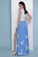. голубой Аисты платье Асия б/р. Цвет: белый цена