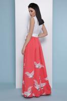 платье с пол с запахом. коралл Аисты платье Асия б/р. Цвет: белый цена
