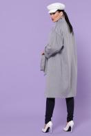 серое кашемировое пальто. Пальто П-366-100. Цвет: серый в интернет-магазине