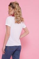стильная футболка с принтом. Vogue футболка Boy-2 C. Цвет: белый в Украине